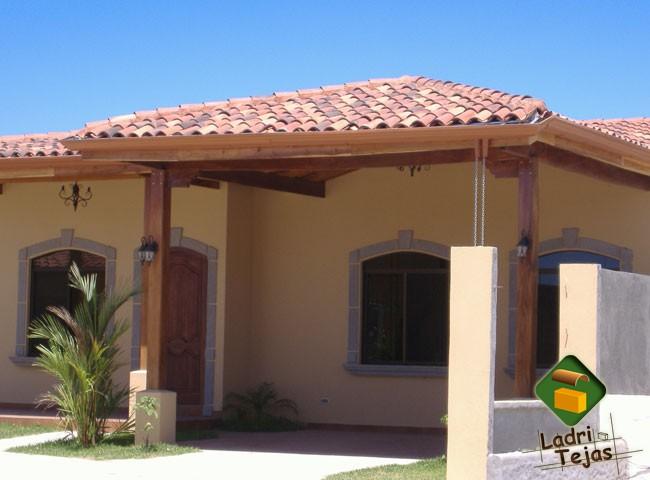 Teja colonial for Techos de teja para terrazas